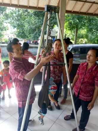 Posyandu balita dan lansia di Dusun Melanting