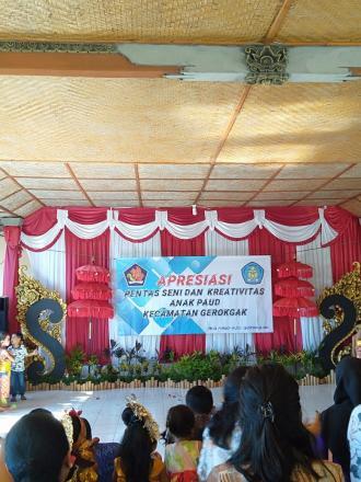 Apresiasi Pentas Seni dan Kreatifitas Anak PAUD Se-Kecamatan Gerokgak