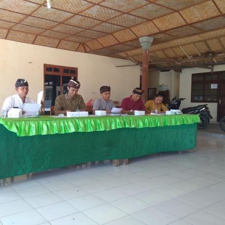 Tindak Lanjut Proses Penyusunan Peraturan Desa