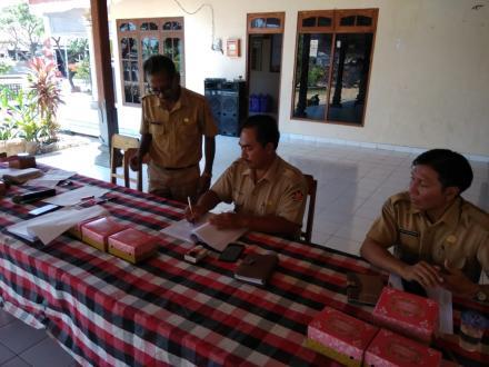 Penyepakatan rancangan peraturan perubahan RKP desa tahun 2019