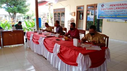 Musyawarah Dan Sosialisasi Perubahan Reguler Tentang ( RKP Desa ) 2020 dan Evaluasi RKP