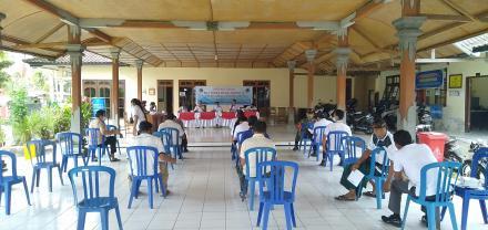Dalam Rangka Kegiatan Refokusing dan Anggaran mendukung pendataan SDGS Desa